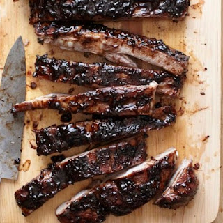 Sweet-and-Sour Balsamic-Glazed Spareribs from Vinny Dotolo and Jon Shook of Animal