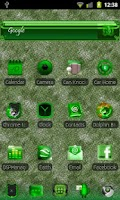 Screenshot of ADWTheme GreenIce