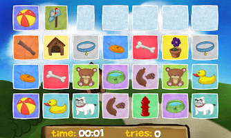 Screenshot of A Dog's Memory for Kids Free