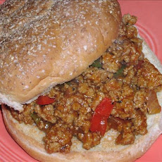 Turkey Joes (sloppy joes)