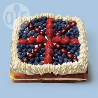 Great British celebration cake