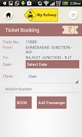 Screenshot of My Railway