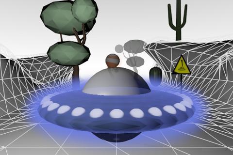 UFO飞行3D