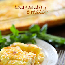 Baked Cheese Omelet