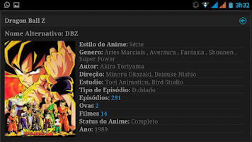 Screenshot of Super Animes