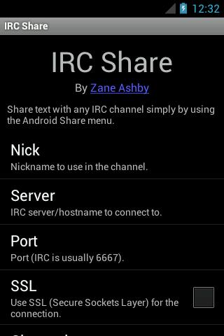 IRC Share