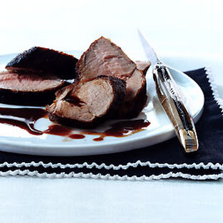 Pork Tenderloin with Pomegranate Sauce