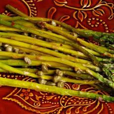 Roasted Asparagus With Capers