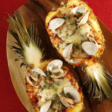 Roasted Seafood-Stuffed Pineapple