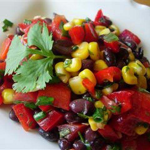 Corn, Avocado and Black Bean Salad Recipe | Yummly