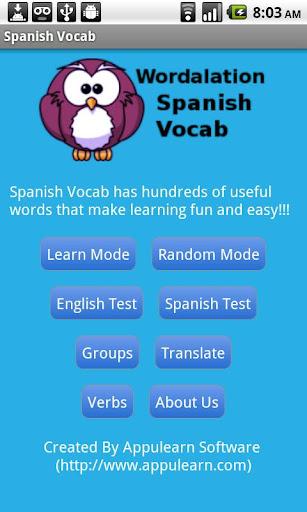 Spanish Vocab