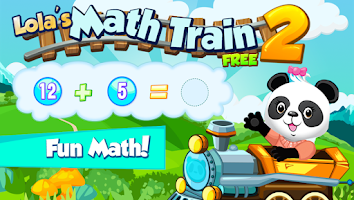 Screenshot of Lola Panda's Math Train 2 FREE