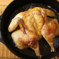 Flat Roast Chicken