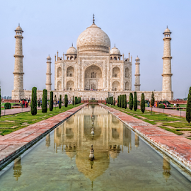 Taj Mahal by Arindam Chakrabarty - Buildings & Architecture Public & Historical