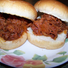 Ham Barbecue Sandwiches Pittsburgh Style