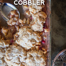 Apple Pear Cobbler