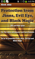 Screenshot of Jinns: types,harm & protection