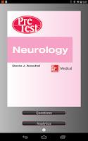 Screenshot of PreTest Neurology