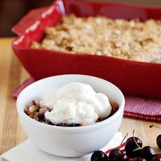 Cherry Almond Cobbler