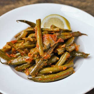 Greek Garlic Green Beans Recipes