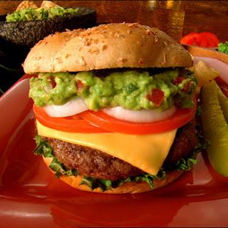 Guacamole Cheese Burger Recipes