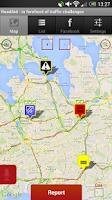 Screenshot of RoadAid - police & traffic