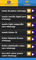 Screenshot of Notifications Ringtones