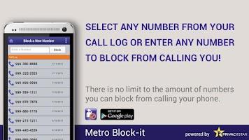Screenshot of Metro Block-it