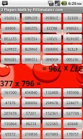 Screenshot of 2 Player Math