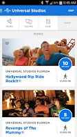 Screenshot of Universal Orlando® Resort App