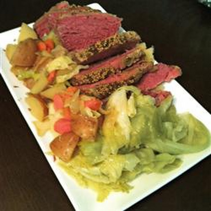 Slow Cooker Corned Beef and Cabbage Recipe | Yummly