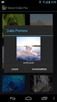 Screenshot of Smart Cube Live Wallpaper