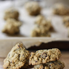 Chocolate Chip Pistachio Breakfast Cookies