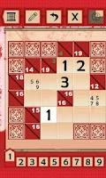 Screenshot of Kakuro Puzzles