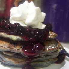 Blueberry Griddle Cakes