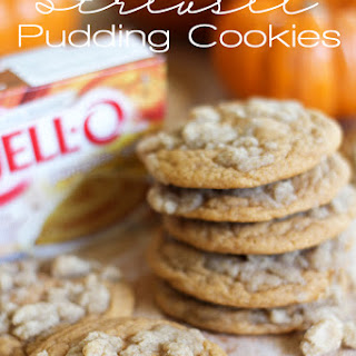 Pumpkin Streusel Pudding Cookies