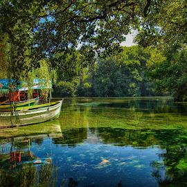 Sveti Naum by Katerina Mavrovska - Landscapes Waterscapes
