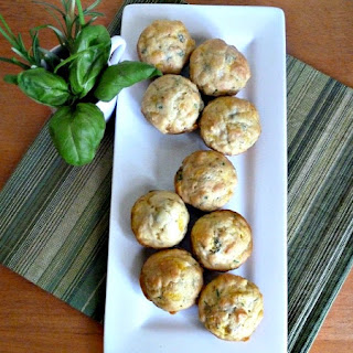 Savory Herb Muffins Adaptedfrom The California Culinary Academy and Once Upon a Plate