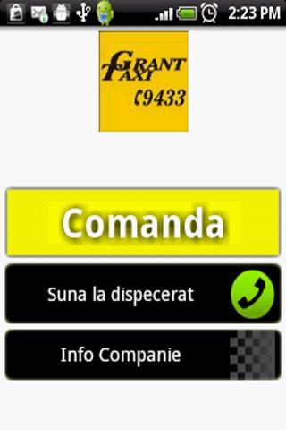 Grant Taxi Bucharest