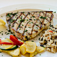 Grilled Swordfish A L' orange