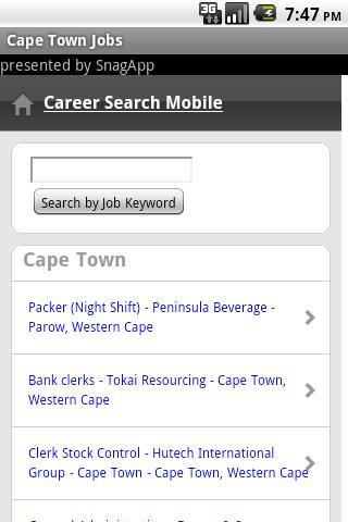 Cape Town Jobs