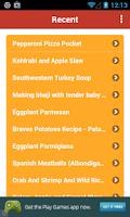 Screenshot of Recipe Folder - Lite