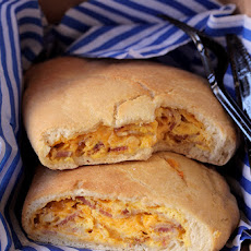 Bacon, Egg, and Cheese Calzone