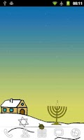 Screenshot of Hanukkah Live Wallpaper Free