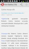 Screenshot of Sivas Haber