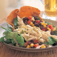 Easy Chicken Tostada Salad