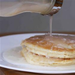 Coconut Pancake Syrup