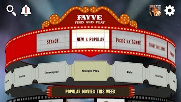 Screenshot of Fayve: Find New Movies & TV