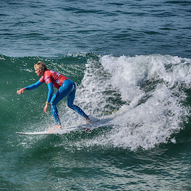 HB Surfer by Jose Matutina - Sports & Fitness Surfing ( orange county, surfer, california, sea, sport, ocean, huntington beach,  )