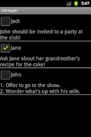 Screenshot of OhYeah!